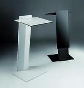 Pupitre fixe - Structure et base métallique - Réglable en hauteur