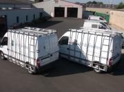 Pupitre porte verre pour véhicules utilitaires - Structures légères