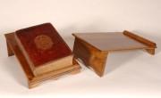 Pupitre pour reliure de livre A5 - Dimensions (L x H x P) : 17 x 8 x 25 cm
