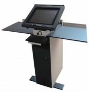 Pupitre tactile configurable ILS - Système configurable par l'utilisateur : solution pré-câblée à laquelle l'utilisateur ajoute un montage Vesa