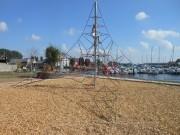 Pyramide de corde 4 à 8 m - Pyramide de corde + copeaux de bois