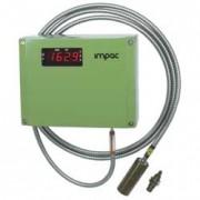 Pyromètre bichromatique infrarouge - Plage de température : 300 - 2 220°C - précision : 0.4% de la valeur mesurée + 1°C