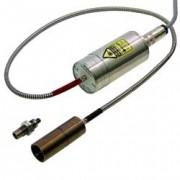 Pyromètre infrarouges digital à fibre optique - Plage de température : de 300 à 2 500°C - précision entre 0.3 et 0.5%