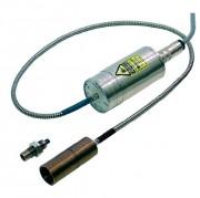 Pyromètre infrarouges sortie analogique et digitale - Digital fixe avec fibre optique pour la mesure de température sans contact de 600 à 3000°C