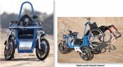 Fauteuil roulant tout terrain - 4 freins à disque hydraulique avec frein de parking