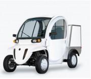 Quadricycle utilitaire électrique