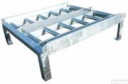 Quai de stockage pour palette et conteneur de fret aérien - Conteneur : LD3/LD2/LD45, palette transport PKC