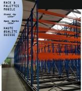 Rack à palettes - Charge par palette : 700, 1000, 1200 Kg