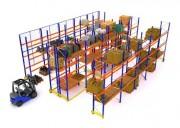 Rack à palettes pour stockage - Charges de 2200 à 19 700 kg