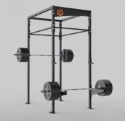 Rack à squat personnalisable musculation et gym - Rack squat avec paire de supports barre olympique