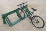 Rack à vélo mural - Capacité : 3 à 6 vélos