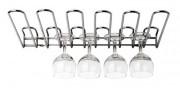 Rack à verres - Capacité de 20 verres - Fixation murale