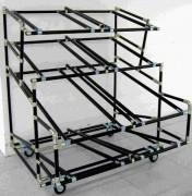 Rack de rangement - Construction sur mesure