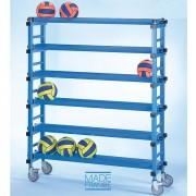 Rack de rangement mobile pour piscine