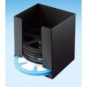 Rack de rangement pour bobines - Dimensions (L x l x H): 186 x 173 x 210 mm - Matière : Plastique
