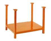Rack de stockage à chandelles fixes - Hauteur : 580 ou 800 mm - Charge utile : 1000 Kg