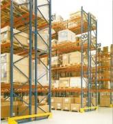 Rack de stockage à palette charge travée 4500 Kg - Hauteur en (mm) : de 2000 à 15000