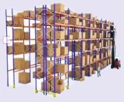 Rack de stockage à palettes - Longueur : 1850 et 3600 mm