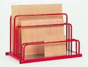 Rack de stockage à panneaux - 3 dimensions de ridelles