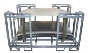 Rack de stockage métallique - Supports de conditionnement pour l'industrie automobile