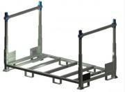 Rack de stockage modulaire 1T - CMU : 1 tonne - Montants repliables ou fixes