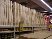Rack de stockage moulures - Stockage vertical ou horizontal