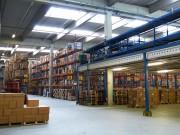 Rack de stockage occasion - 3m 35 de hauteur - 3 palettes de 500 à 800 kg sur un rayonnage de 2m70 - 2T/ niveau
