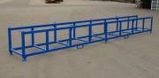 Rack de stockage pour marchandises longues - Construction métallique stable