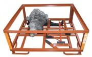 Rack de stockage pour pièces de carrosseries - Utilisation dans le domaine des moteurs