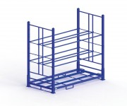 Rack de stockage pour pneus - Dimensions (L x P x H) mm : 2.395 x 1.250 x 2.200
