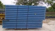 Rack magasin occasion - Hauteur 3m x 1m10 de profondeur - Capacité 2T/niveau