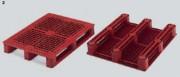 Rack palette en plastique 3 semelles - 33303