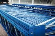 Rack palettes d'occasion - 36 Lisses de 2700 mm 3T par niveau ( soit sol +2 )