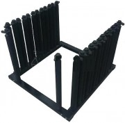 Rack pare-brises 6 compartiments - 6 compartiments - Charge maxi : 200 Kg