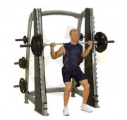 Rack squat fitness