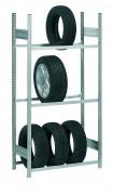 Rack stockage vertical pneu - Hauteur maxi : 6.3 mètres