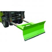 Racleur à sable pour chariot élévateur - Largeur de raclage : 1,2 mètres