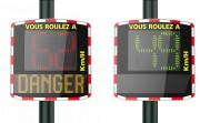 Radar pédagogique électrique - Réduire efficacement la vitesse dans les agglomérations