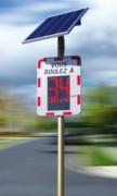Radar routier pédagogique - Distance de détection : 150 mètres