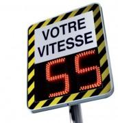 Radar préventif pédagogique  - Distance de détection camion : de 150 à 200 m -