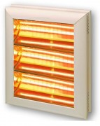 Radiateur infrarouge mural - Puissance : 4500 ou 6000 Watts