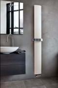 Radiateur sèche-serviettes à eau chaude - Dimension (cm) : 121x20 - 181x30