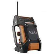 Radio de chantier ou d'atelier 12 V  -  Résistante à l'eau et à la poussière