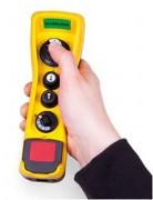 Radiocommande ergonomique pont roulant - Poids de l'émetteur : 280 g