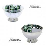 Rafraîchisseur à yaourts - Diamètre :  37 cm - 40 cm - Inox