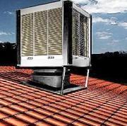 Rafraîchisseur d'air évaporatif - Débit d'air de 9000 à 50000 m³/h