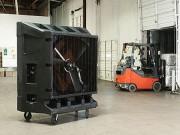 Rafraichisseur d air mobile - Débit : 17000 M3/H à 33900 M3/H