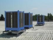 Rafraichisseur d'air par évaporation - Débits : de 15 000 à 35 000 m³/h