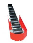 Rail à palettes - Diamètre rouleaux en (mm) : 50 - 60