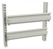 Rail porte-bacs d'atelier - Charge max (kg) : 50